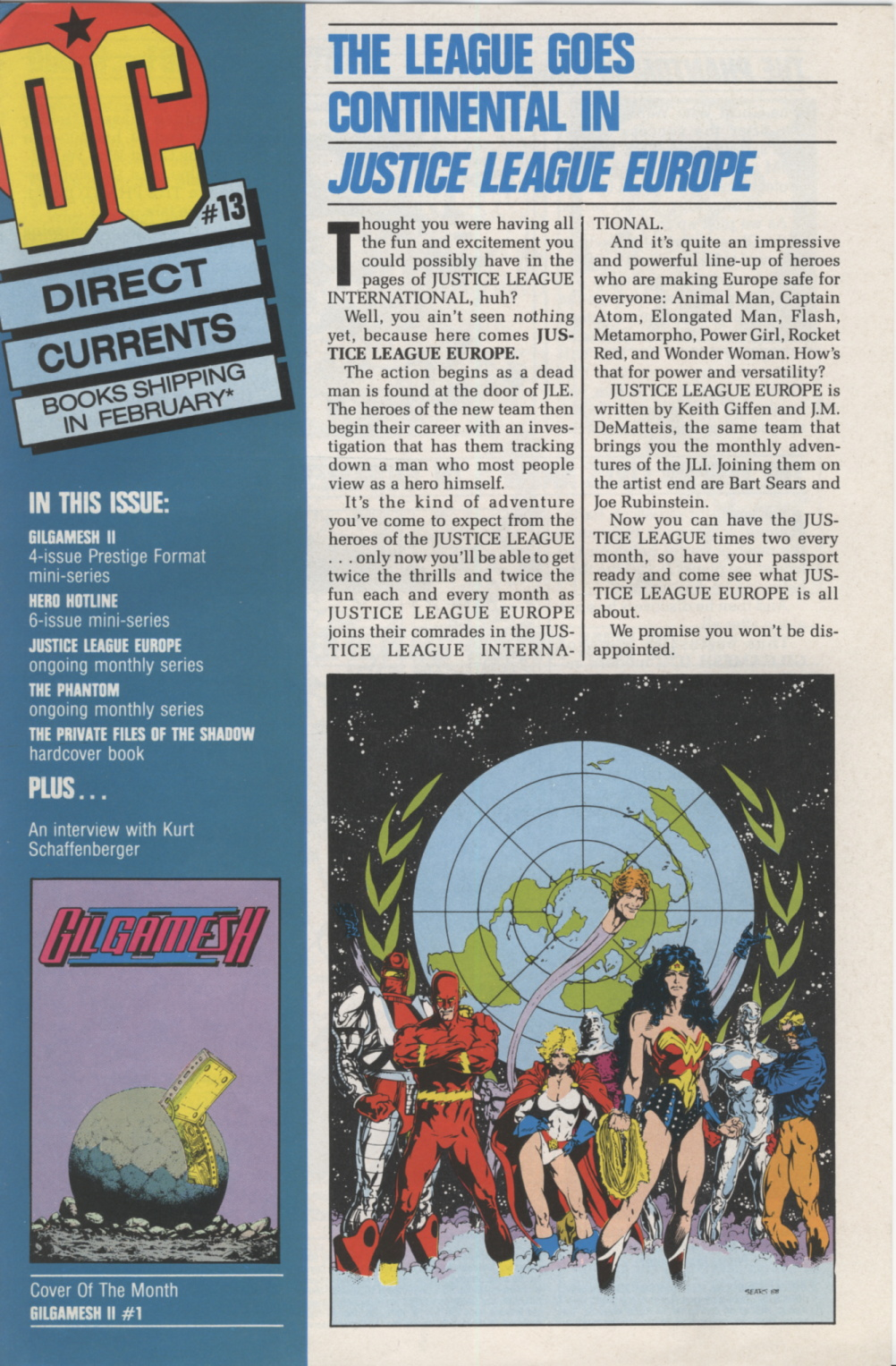 Time Capsule: DC Direct Currents 13, January 1989