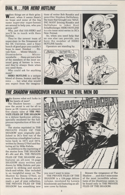 DC Direct Currents 13 January 1989 Page 3