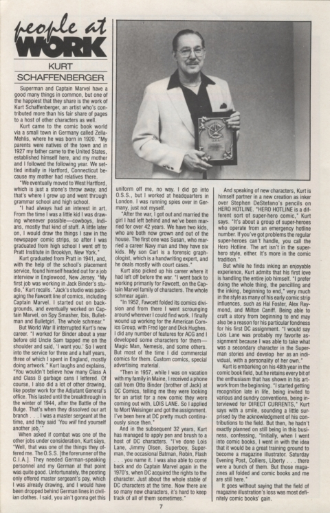 DC Direct Currents 13 January 1989 Page 7