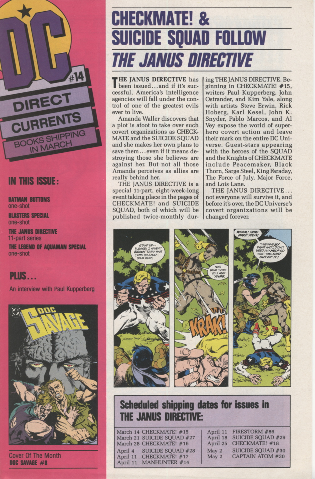 Time Capsule: DC Direct Currents 14, February 1989