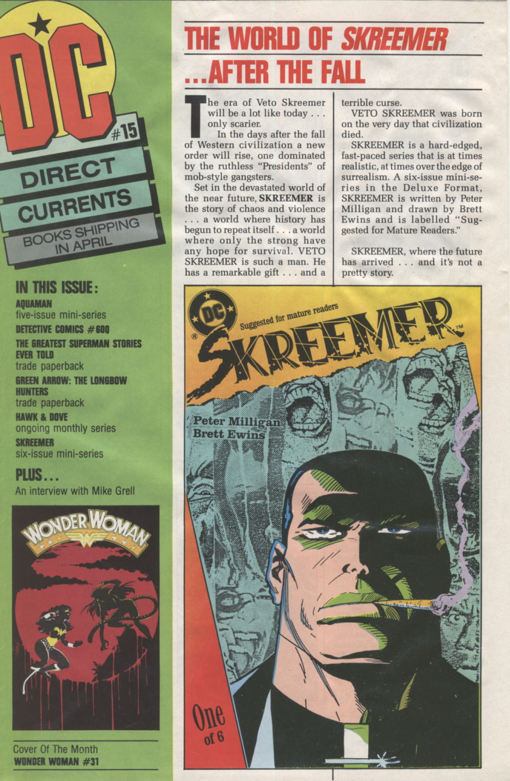 Time Capsule: DC Direct Currents 15, March 1989