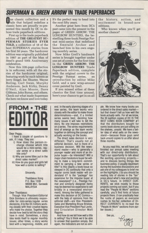 DC Direct Currents 15 March 1989 Page 3