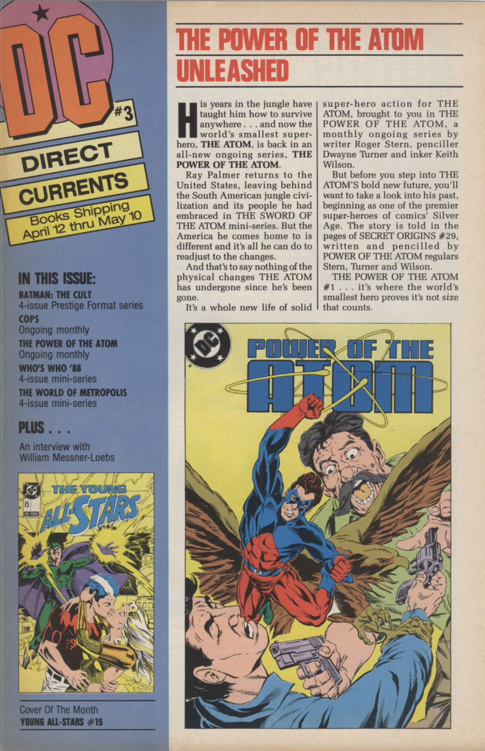 Time Capsule: DC Direct Currents 3, March 1988