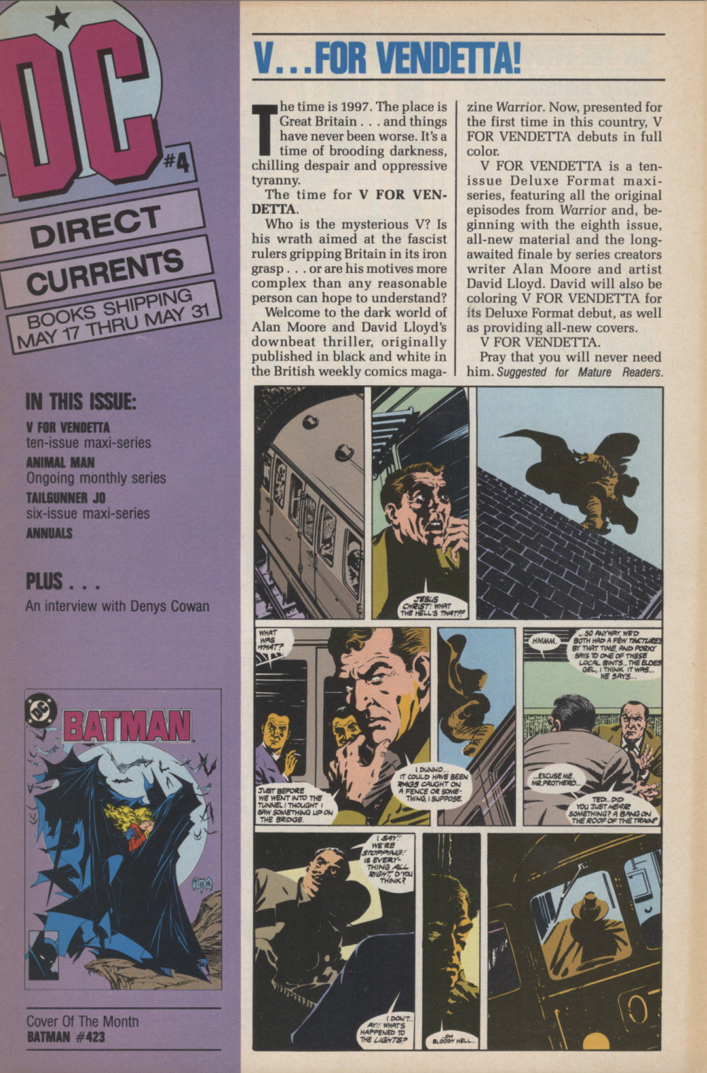 Time Capsule: DC Direct Currents 4, April 1988