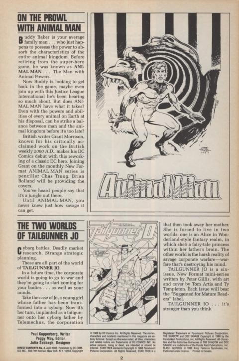 DC Direct Currents 4 April 1988 Page 2