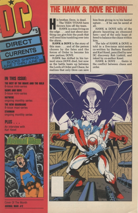 DC Direct Currents 5 May 1988 Page 1