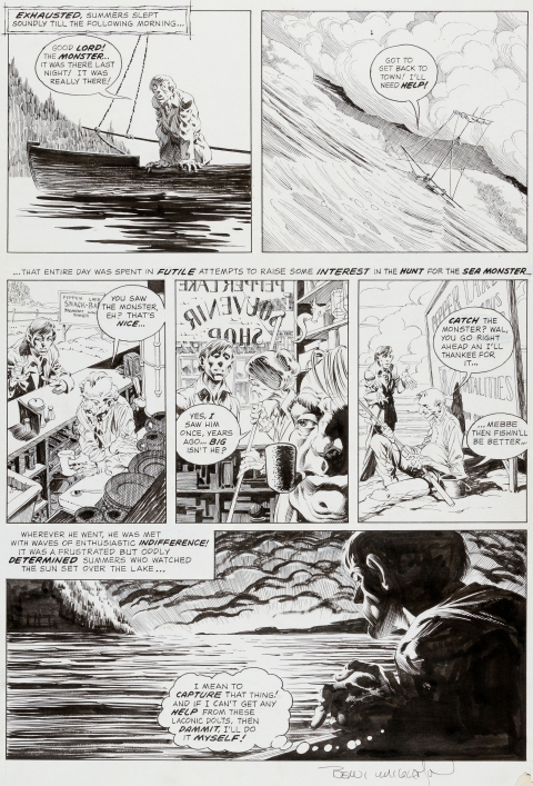 Eerie issue 58 page 26 by Bernie Wrightson.  Source.