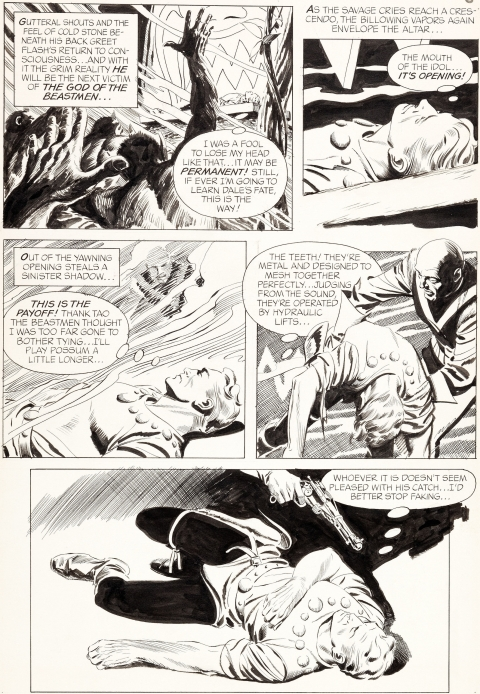 Flash Gordon issue 5 page 6 by Al Williamson.  Source.