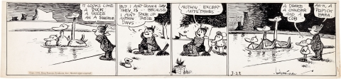 Krazy Kat Daily 3-22-1941 by George Herriman.  Source.
