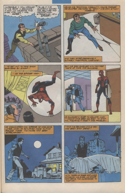 Marvel Requirer November 1992 page 11