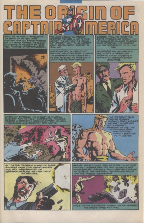 Marvel Requirer November 1992 page 13