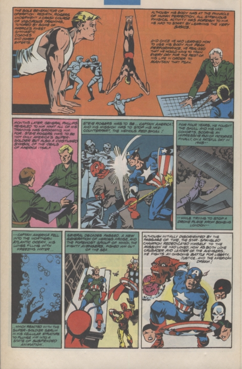 Marvel Requirer November 1992 page 14