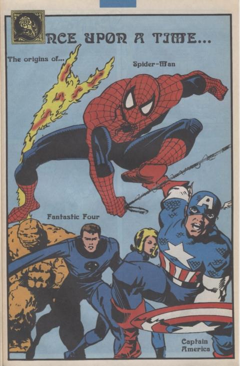 Marvel Requirer November 1992 page 9