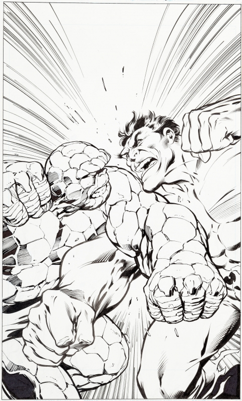 Marvel Selects: Fantastic Four issue 6 cover by Alan Davis.  Source.