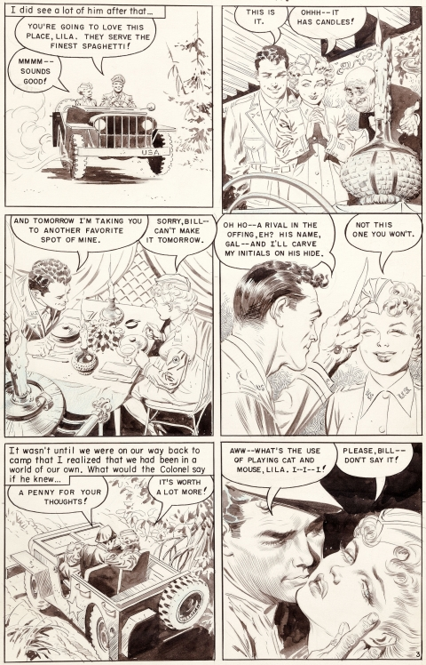Personal Love issue 24 page 3 by Frank Frazetta.  Source.
