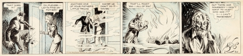 Secret Agent X-9 Daily 8-1-1934 by Alex Raymond.  Source.