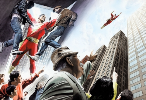 Shazam: Power Of Hope page by Alex Ross.  Source.
