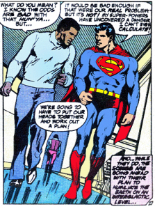 Superman Vs Muhammad Ali interior 1