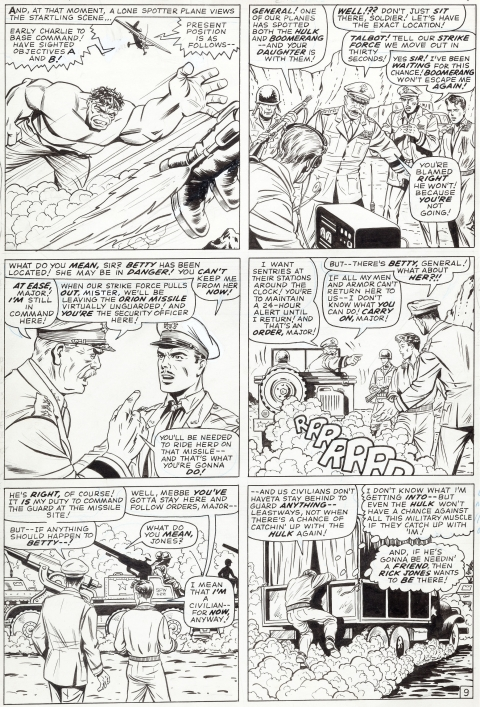 Tales To Astonish issue 82 page 9 by Jack Kirby and Bill Everett. Source.