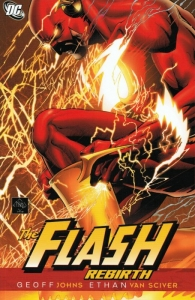 The Flash Rebirth cover