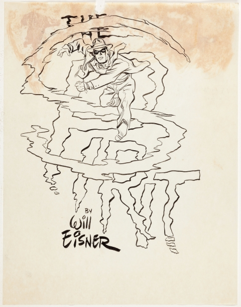 The Spirit by Will Eisner.  Source.