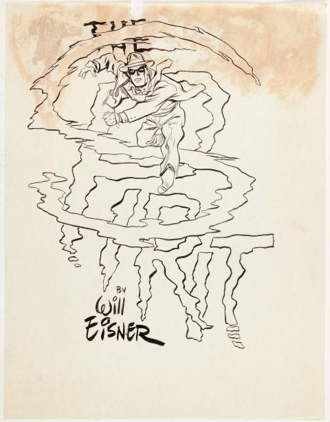 The Spirit by Will Eisner.  Source.