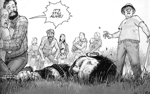 The Walking Dead Book One interior 3