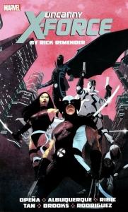 Uncanny X-Force Vol 1 cover
