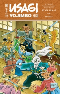 Usagi Yojimbo Saga Vol 5 cover