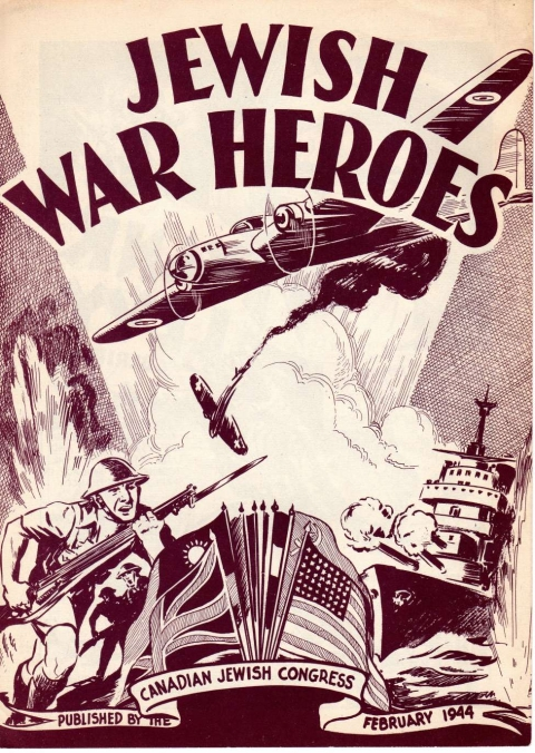 The Rae cover of Jewish War Heroes No. 1