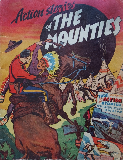 1944 compilation one-shot of Rae mounties stories