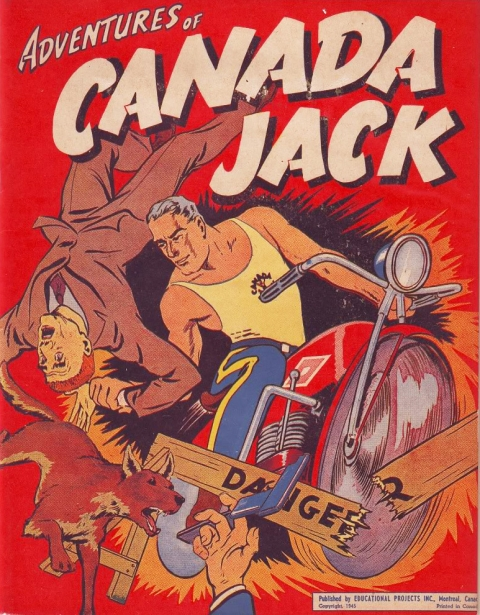 Cover of the compendium of Canada Jack stories by Rae
