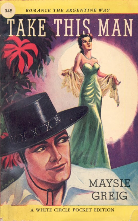 White Circle paperback No. 432 with a Rae cover