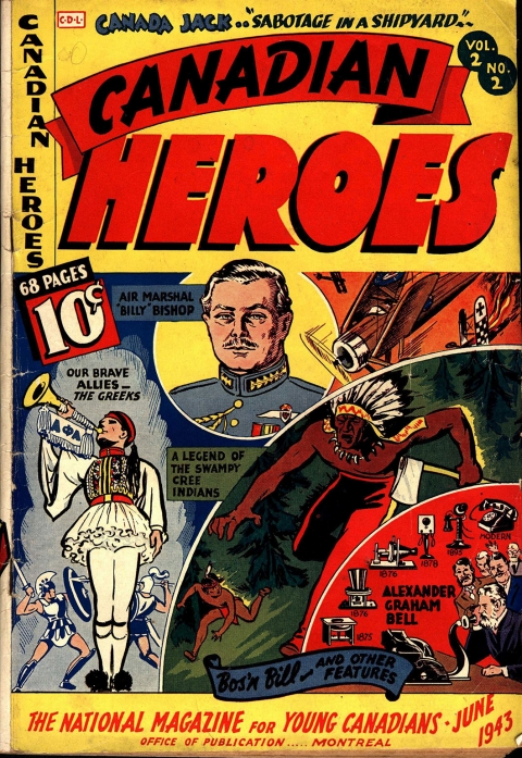 Canadian Heroes Vol. 2 No. 2