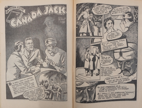 Canada Jack pages from Canadian Heroes Vol. 5 No. 4