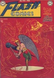 flash comics 104