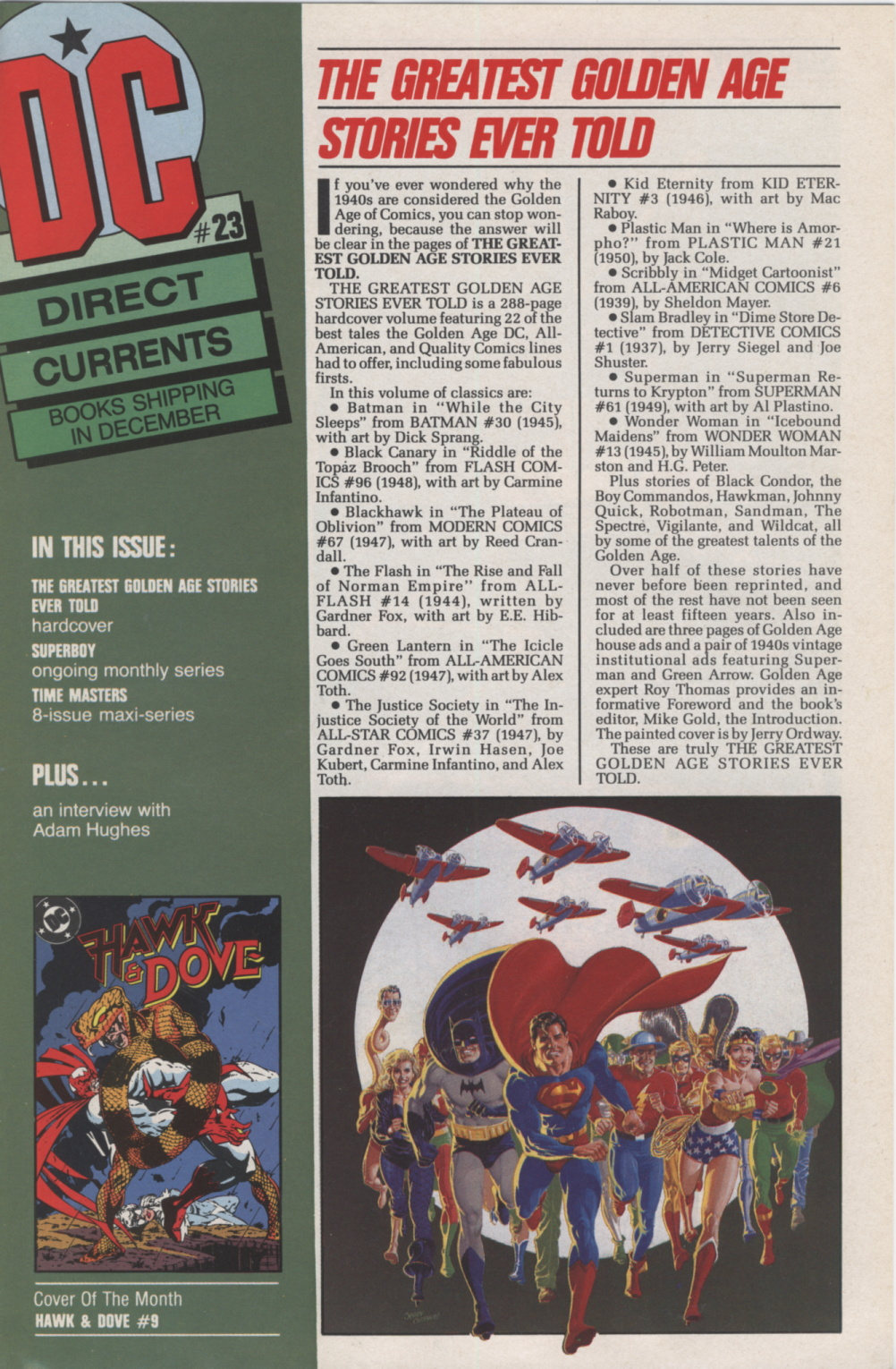 Time Capsule: DC Direct Currents 23 November 1989