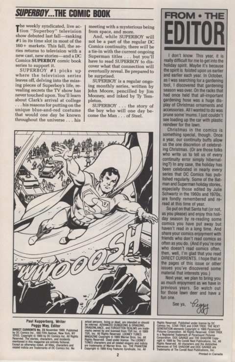 DC Direct Current 23 November 1989 page 2