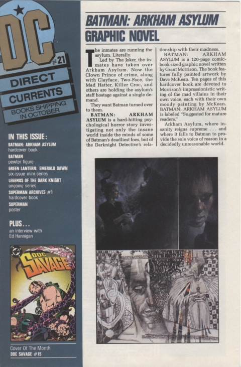DC Direct Currents 21 October 1989 Page 1
