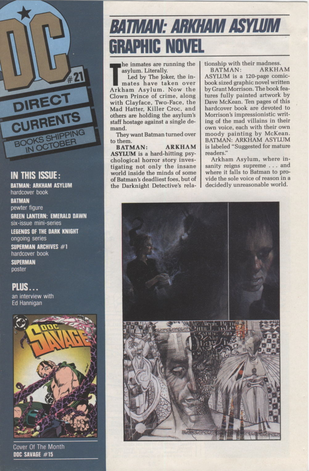 Time Capsule: DC Direct Currents 21, October 1989