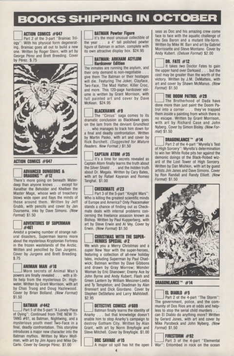 DC Direct Currents 21 October 1989 Page 4