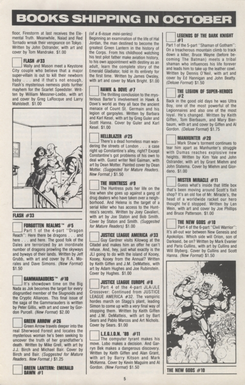 DC Direct Currents 21 October 1989 Page 5