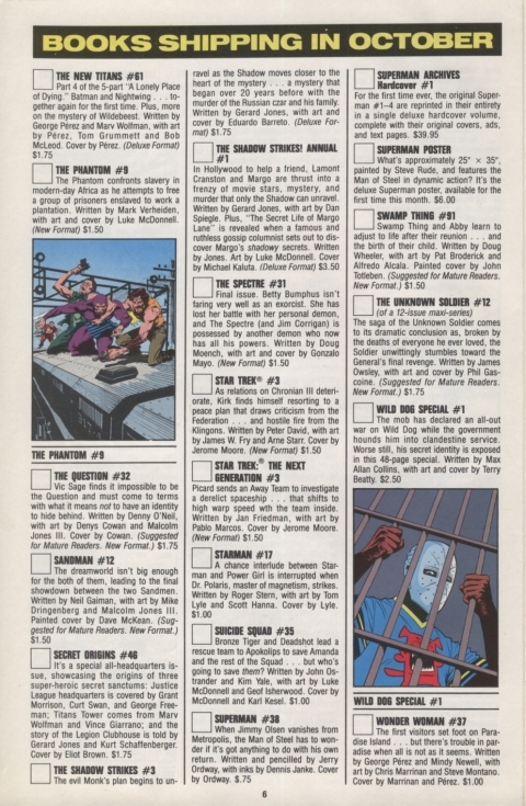 DC Direct Currents 21 October 1989 Page 6