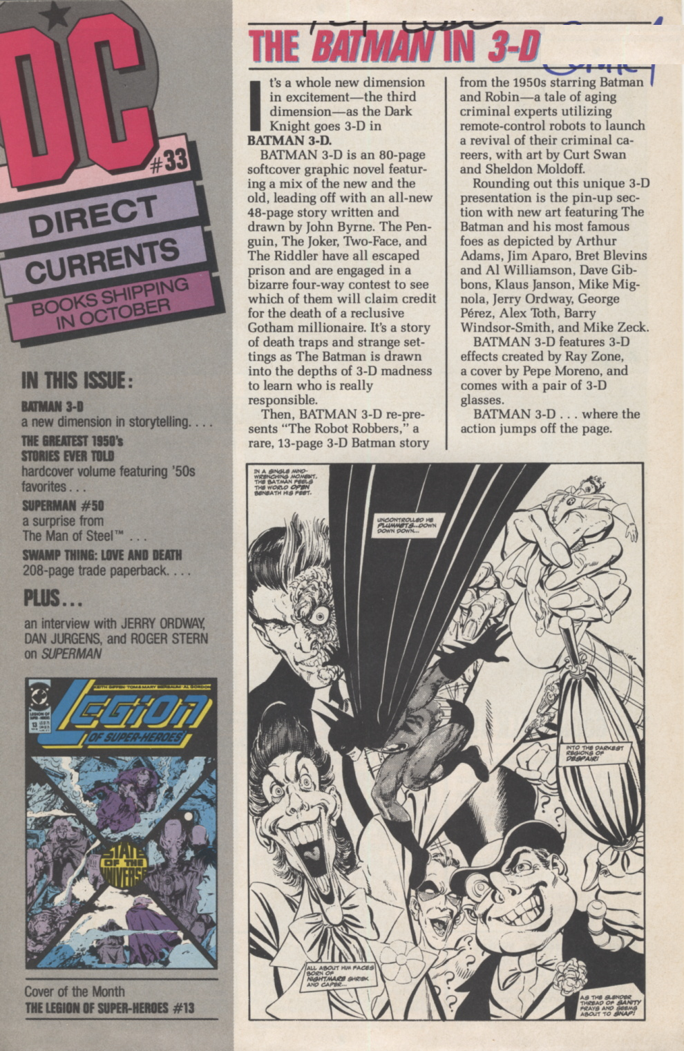 Time Capsule: DC Direct Currents 33 October 1990