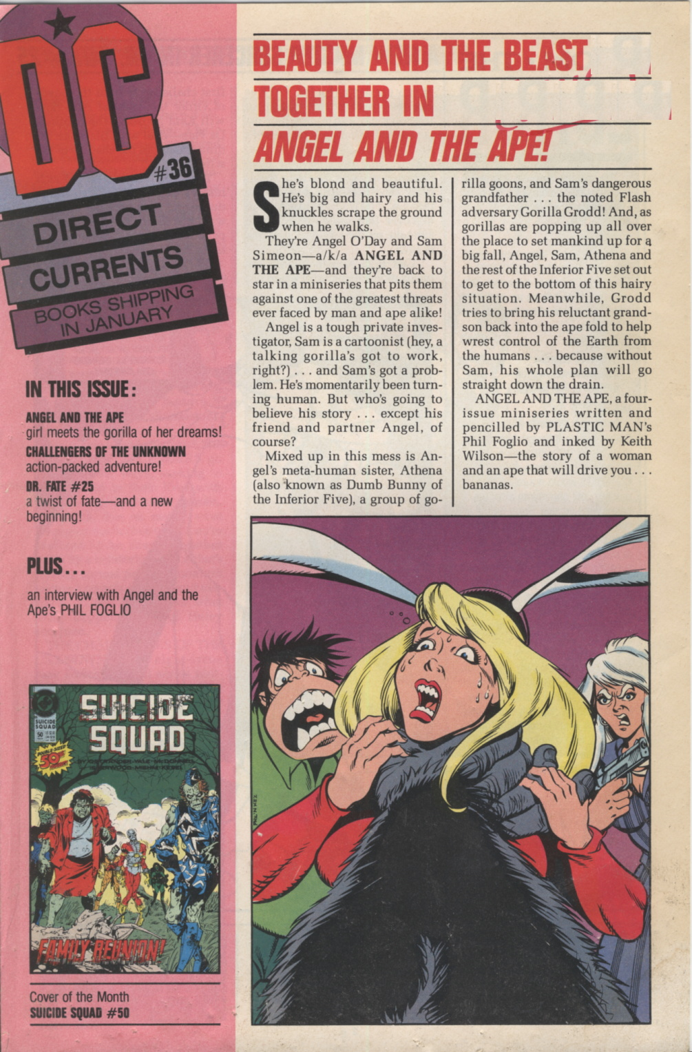 Time Capsule: DC Direct Currents 36 January 1991