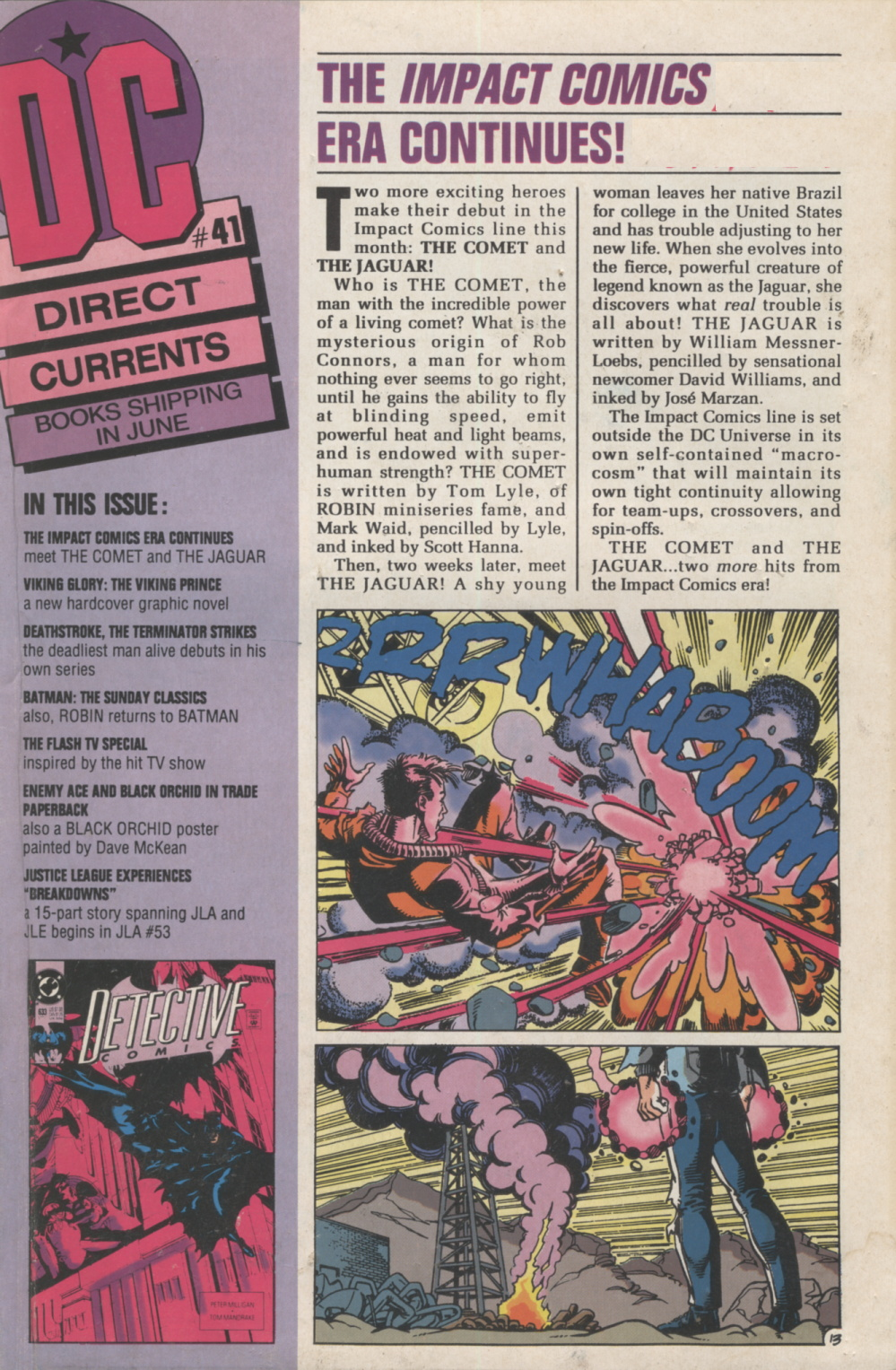 Time Capsule: DC Direct Currents 41 June 1991