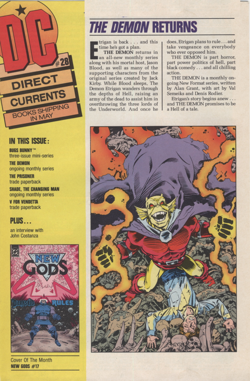 Time Capsule: DC Direct Currents 28 April 1990