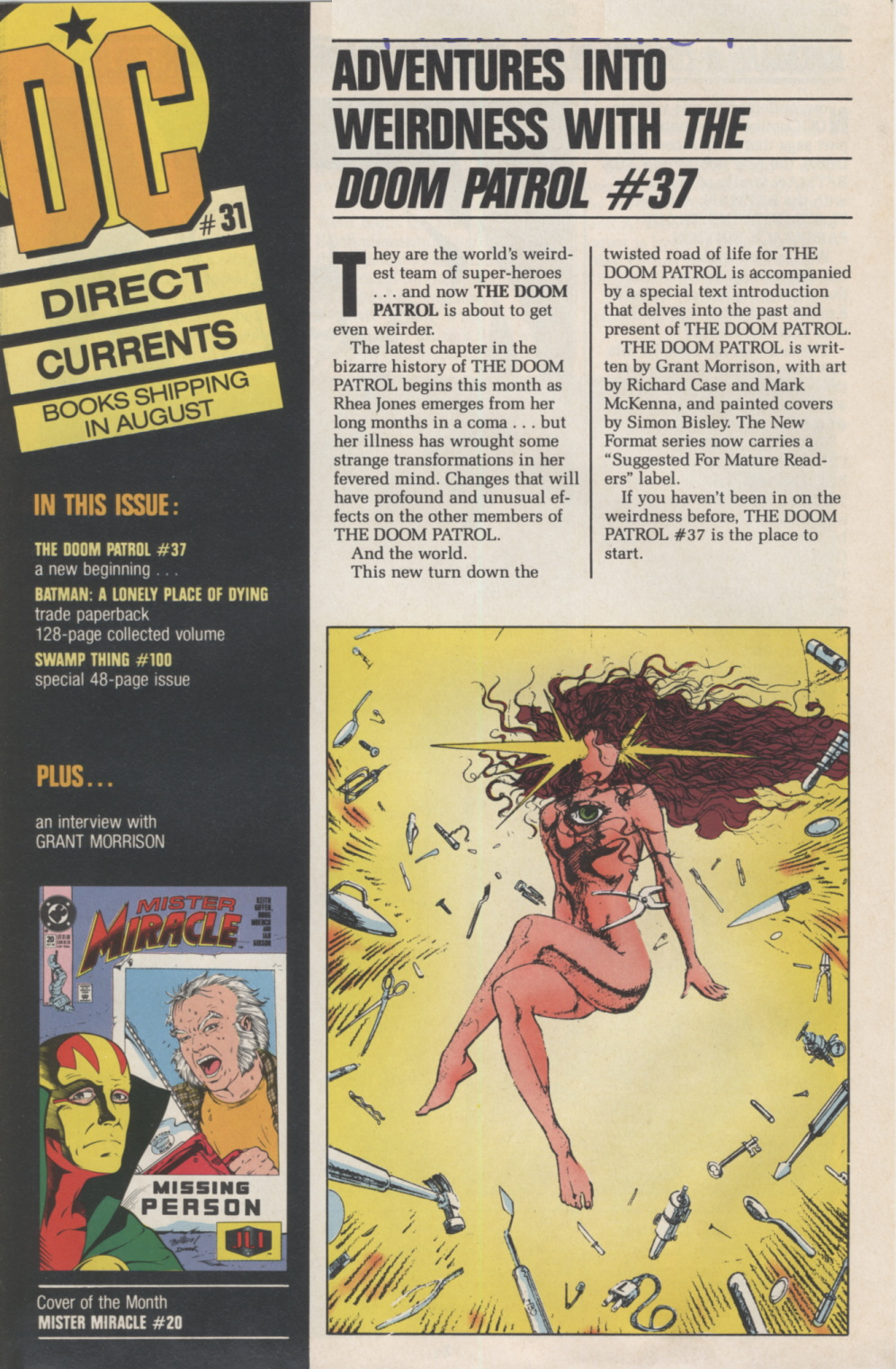 Time Capsule: DC Direct Currents 31 August 1990