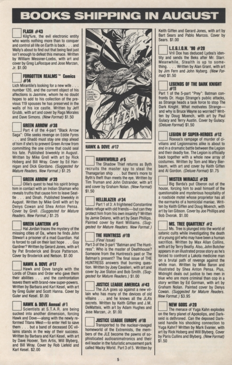 DC Direct Currents August 1990 Page 5