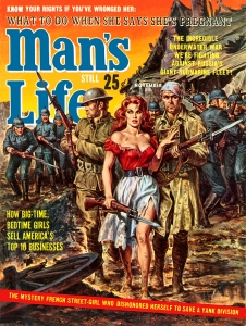 Man's Life Earl Norem cover